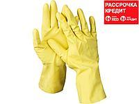 DEXX перчатки латексные хозяйственно-бытовые, размер XL. (11201-XL)