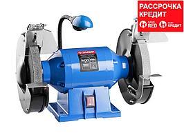 ЗУБР индустриальный заточной станок, d200 мм, 600 Вт (ЗТШМЭ-200-600)