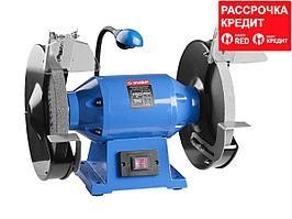 ЗУБР индустриальный заточной станок, d250 мм, 750 Вт (ЗТШМЭ-250-750)