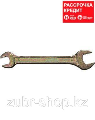 Рожковый гаечный ключ 13 х 17 мм, DEXX (27018-13-17)