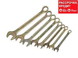 Набор комбинированных гаечных ключей 8 шт, 12 - 27 мм, STAYER (27094-H8)