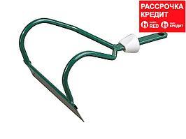Мотыжка садовая RACO из нерж. стали, с быстрозажимным механизмом, 160мм (4230-53828)