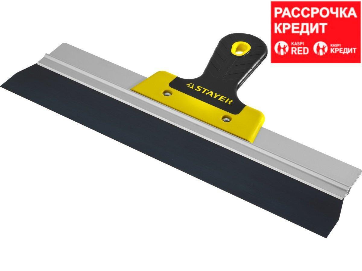 ProFlat фасадный шпатель анодированный 350 мм, 2к ручка, STAYER (10045-35)