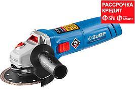 ЗУБР УШМ 125 мм, 1200 Вт, серия Профессионал. (УШМ-П125-1200 ЭПСТ)