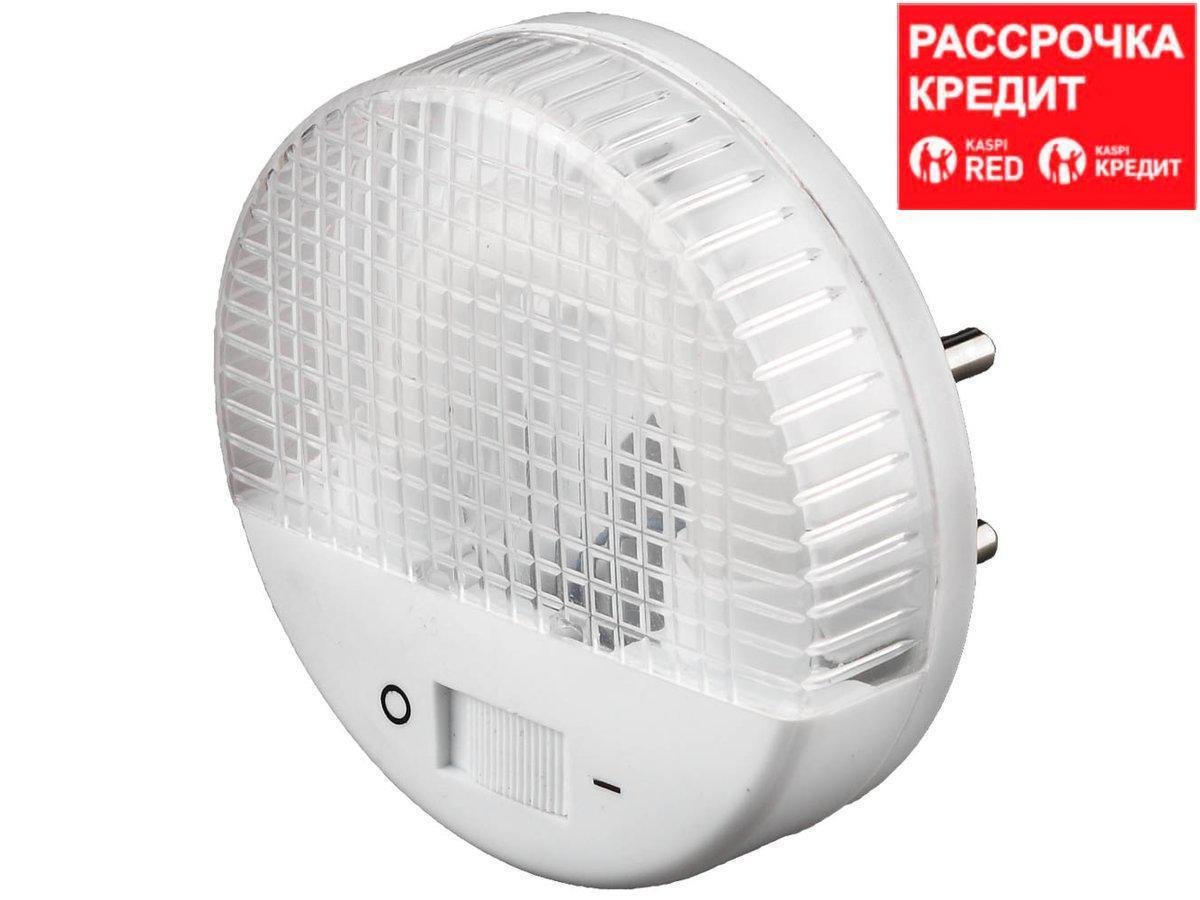 Светильник-ночник СВЕТОЗАР, U-образная люминесцентная лампа, с выключателем, 1W, цветовая температура 2700К (SV-57985)