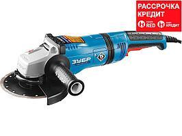 ЗУБР УШМ 180 мм, 2100 Вт, серия Профессионал. (УШМ-П180-2100 ПВ)