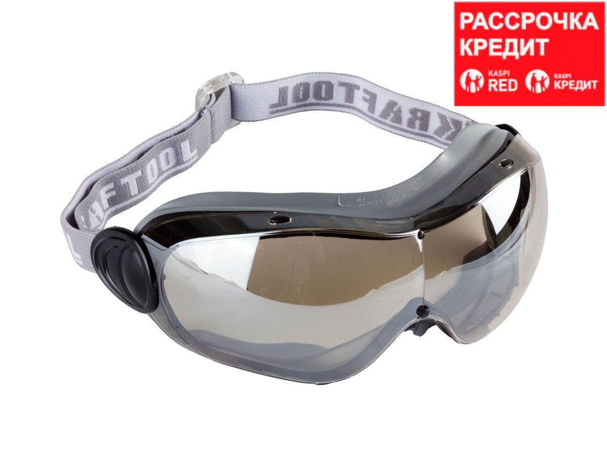 KRAFTOOL EXPERT антибликовые и антизапотевающие очки защитные с непрямой вентиляцией, закрытого типа. (11007)