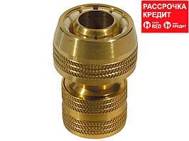 """RACO PROFI 3/4"""", соединитель быстросъемный для шланга, из латуни (4246-55008B)"""
