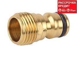 """RACO PROFI 1/2"""", с внешней резьбой, адаптер штуцерный, из латуни (4246-55015B)"""