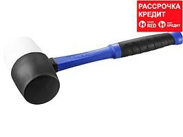 ЗУБР 900 г резиновая киянка черно-белая (20532-900)