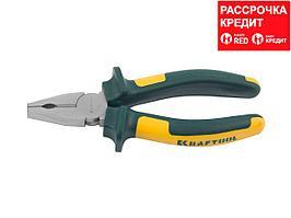 KRAFTOOL KraftMax плоскогубцы комбинированые, 160 мм (22011-1-16)