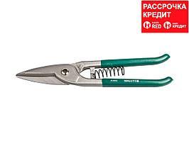 KRAFTOOL BERLINER Ножницы по металлу цельнокованые, длинный прямой рез, 260 мм (23006-26_z01)