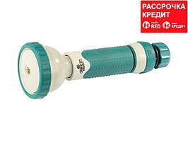 """RACO 315C 4 режима, наконечник поливочный пластиковый с TPR, с соединителем 1/2"""" (4253-55/315C)"""