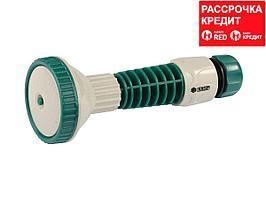 """RACO 387C 4 режима, с вентилем, наконечник поливочный пластиковый, с соединителем 1/2"""" (4255-55/387C)"""