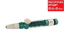 """RACO 411C плавная регулировка, с вентилем, наконечник поливочный пластиковый, с соединителем 1/2"""" (4255-55/411C)"""