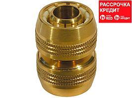 "RACO PROFI 3/4"", муфта ремонтная для шланга, из латуни (4246-55019B)"
