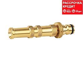 Насадка для полива RACO 4246-55022B, Profi регулируемая, латунная, удлиненная