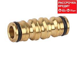 Переходник RACO Profi (соединитель-соединитель) латунный, 4246-55023B