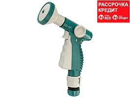 """RACO 534C 4 режима, курок спереди, пистолет поливочный пластиковый, с соединителем 1/2"""" (4255-55/534C)"""