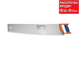"""Ножовка """"ИЖ"""" """"ПРЕМИУМ"""" по дереву с двухкомпонентной пластиковой рукояткой, шаг 12мм, 600мм (1520-60-12_z01)"""