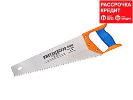 """Ножовка """"ИЖ"""" """"ПРЕМИУМ"""" по дереву с двухкомпонентной пластиковой рукояткой, шаг 5мм, 400мм (1520-40-05_z01)"""