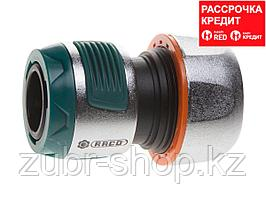 """RACO PROFI-PLUS 3/4"""", соединитель усиленный быстросъемный для шланга, из металла с TPR (4247-55099B)"""