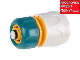 """RACO ORIGINAL 1/2"""", с автостопом, соединитель быстросъёмный для шланга (4250-55205T)"""