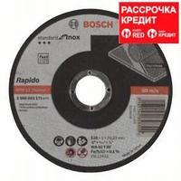 Отрезной круг Bosch Standard for Inox 125x1 мм