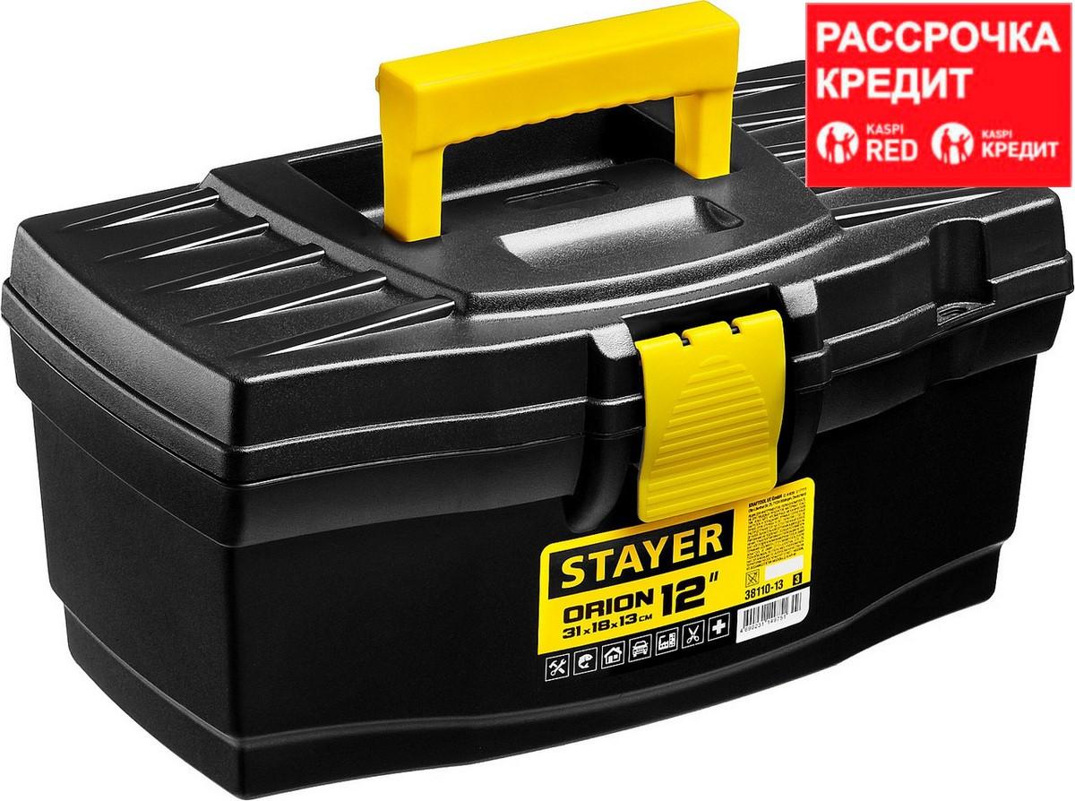 """Ящик для инструмента """"ORION-12"""" пластиковый, STAYER (38110-13_z03)"""