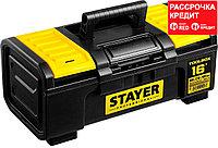 "Ящик для инструмента ""TOOLBOX-16"" пластиковый, STAYER Professional (38167-16), фото 1"