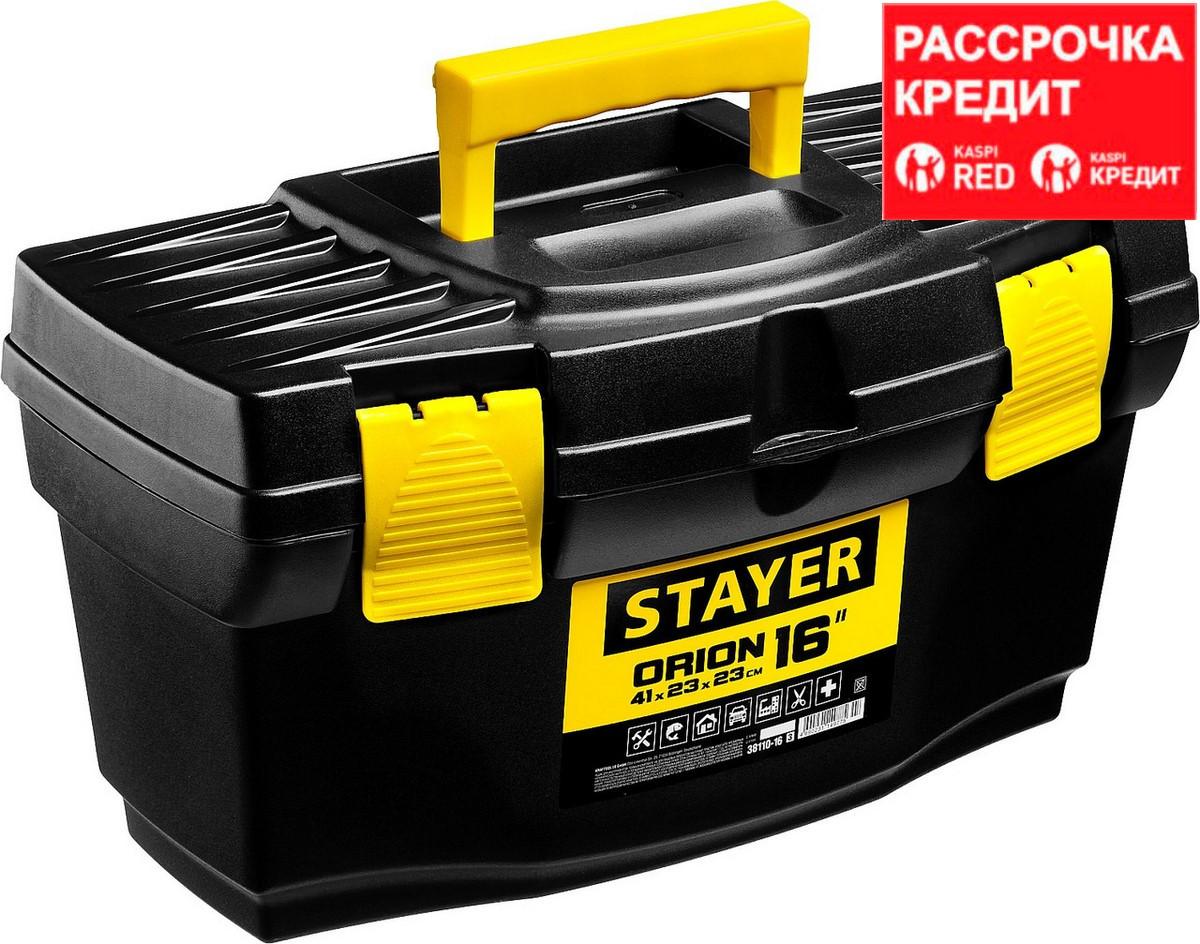 """Ящик для инструмента """"ORION-16"""" пластиковый, STAYER (38110-16_z03)"""