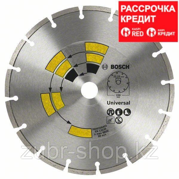 Алмазный отрезной круг универсальный Bosch Eco for Universal 125x22.23x1.7x7 мм