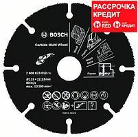 Мультифункциональный твердосплавный отрезной диск Bosch Carbide Multi Wheel 115 мм