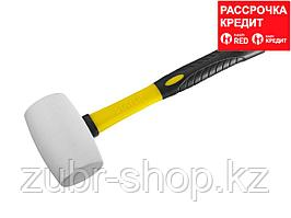 STAYER 450г Белая резиновая киянка с фиберглассовой рукояткой (20533-450)