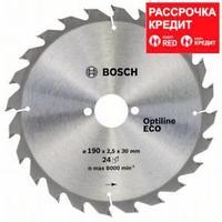Пильный диск Bosch Optiline Wood ECO 190х30, Z24, фото 1