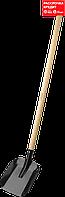 """Лопата """"МАСТЕР"""" совковая, ЛСП, деревянный черенок, ЗУБР (39577)"""