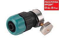 """RACO ORIGINAL 1/2""""/14-17 мм, соединитель с хомутом (шланг - труба) (4250-55224C)"""