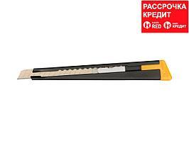 Нож OLFA с выдвижным лезвием, черный, 9мм (OL-180-BLACK)