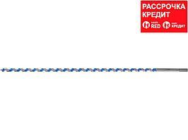 ЗУБР 10x600/400мм, сверло левиса по дереву, шестигранный хвостовик (2948-600-10)