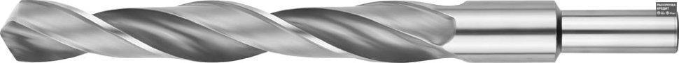 ЗУБР 18.5х198мм, Сверло по металлу, проточенный хвотосвик, сталь Р6М5, класс В (4-29621-198-18.5)