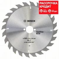 Пильный диск Bosch Optiline Wood ECO 230х30, Z24