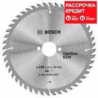 Пильный диск Bosch Optiline Wood ECO 190х30, Z48