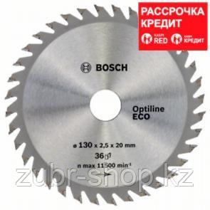 Пильный диск Bosch Optiline Wood ECO 130 x 20/16, Z36