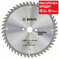 Пильный диск Bosch Optiline Wood ECO 190 x 20/16, Z48