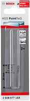 Сверло по металлу Bosch HSS-PointTeQ 1 x 34 мм, 2 шт