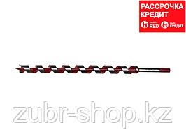 ЗУБР 25x450/360мм, сверло левиса по дереву, шестигранный хвостовик (2947-450-25)