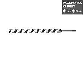 "ЗУБР ""левис SDS"" 25x450/360 мм, сверло левиса по дереву, хвостовик SDS+ (29482-450-25)"