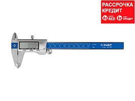 ЗУБР ЭКСПЕРТ, ШЦЦ-I-150-0,01 штангенциркуль электронный, нерж. сталь,150мм (34463-150)
