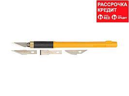 Набор OLFA Нож перовой с профильными лезвиями, 6мм, 4шт (OL-AK-4)