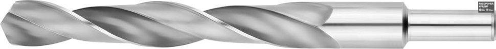 ЗУБР 19.5х205мм, Сверло по металлу, проточенный хвотосвик, сталь Р6М5, класс В (4-29621-205-19.5)